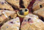 Easy Blueberry Scones (Gluten-Free Optional)