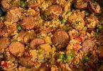 Easy Cajun Cauliflower Rice
