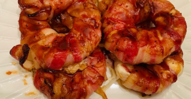 BACON WRAPPED Donuts in 10 Minutes