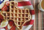 Texas Crispy Sweet Cinnamon Keto Waffles