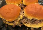 Chopped Cheeseburger Sliders