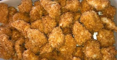 The BEST Crispy Baked Chicken Nuggets Ever!