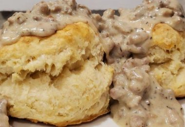 Best Biscuits and Gravy in the world