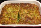 Zucchini and Bacon Slice Recipe