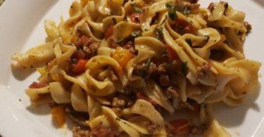 Recipe Italian Drunken Noodles